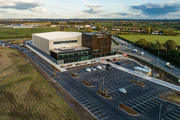 Image: £20 million AMRC Cymru building in Broughton, Wales