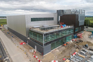 Image: £20 million AMRC Cymru building under construction