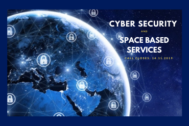 Graphic: Promote ESA feasibility study 'Cyber security and space based services'