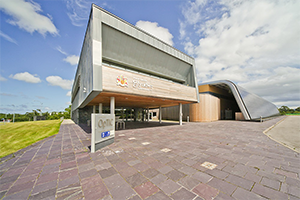 Image: Wrexham Glyndwr University's Optic Centre